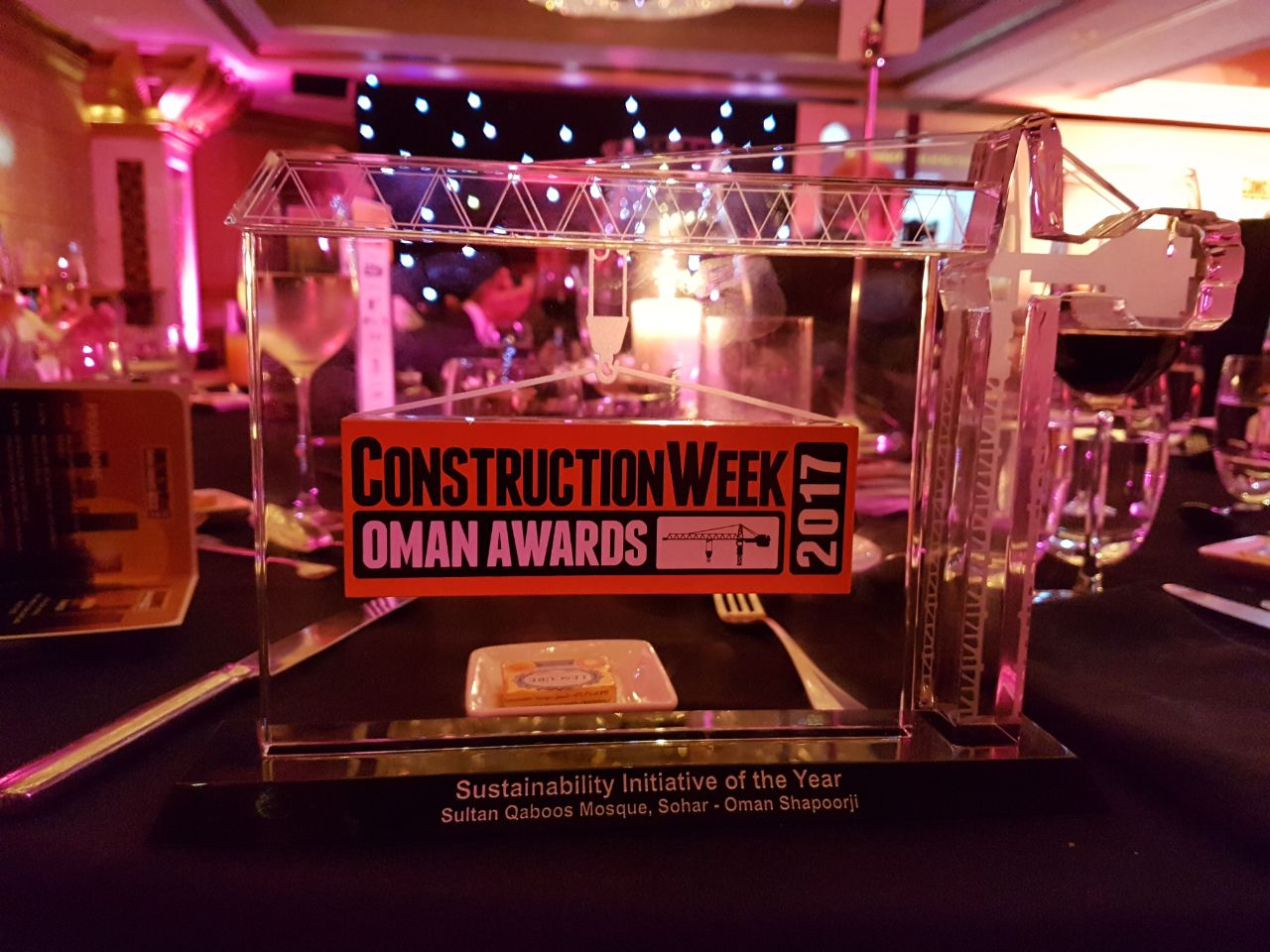 Construction Week Award 2017 - OSCO