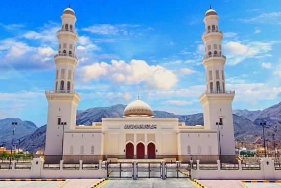 Sultan Qaboos Mosque at Suwaiq