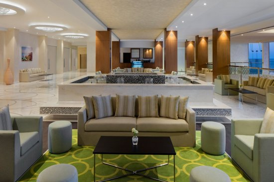 Radission Blu Hotal at Sohar – Lobby